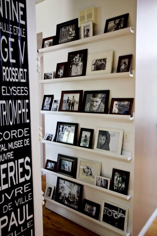 15 Ideas To Display Your Family Photos