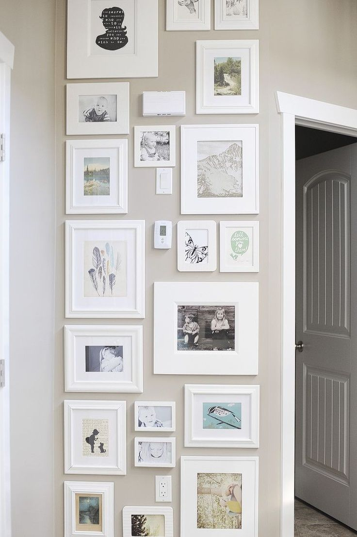 15 Ideas to Display Your Family Photos at Home - Pretty Designs