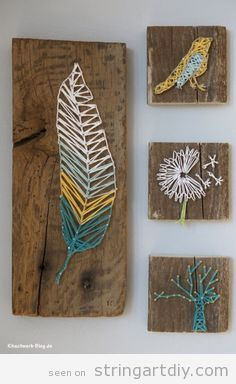 Pretty String Wall Art