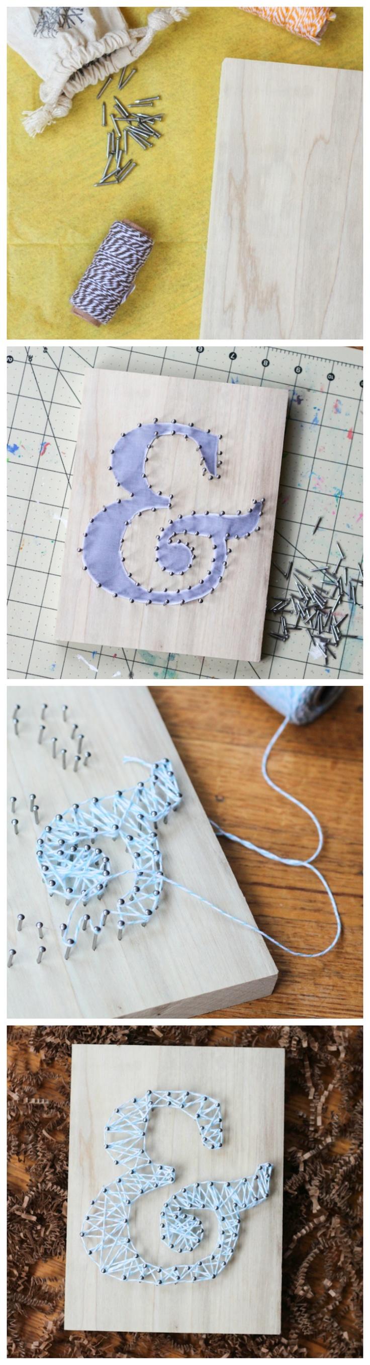 Letter String Art