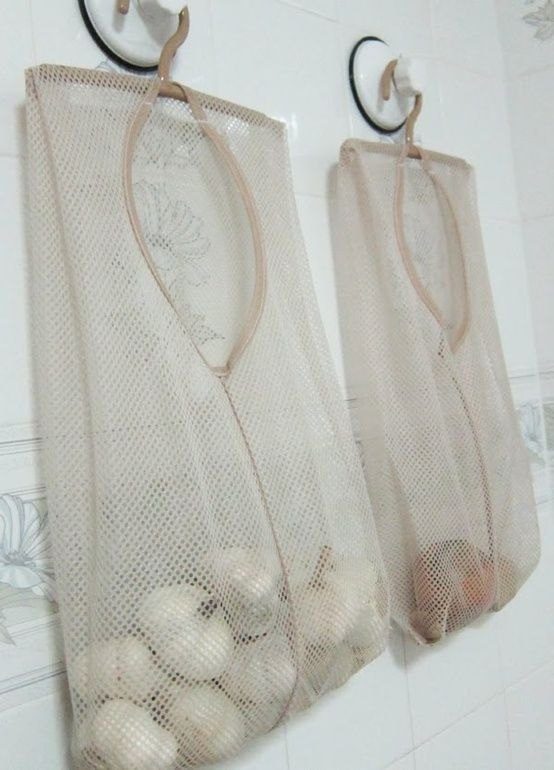 Laundry Bags for Food Storage