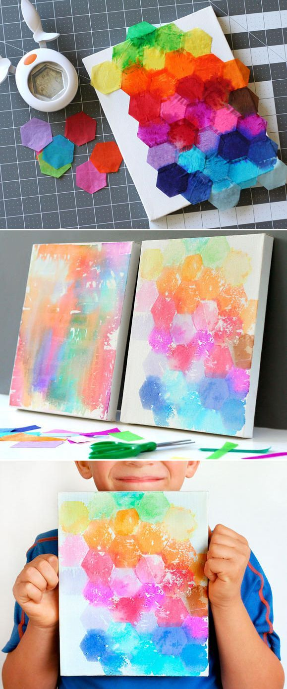 Watercolor Canvas Art