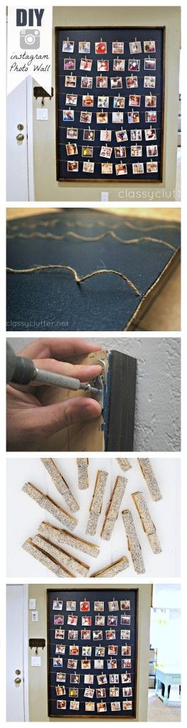 DIY Photo Wall Art