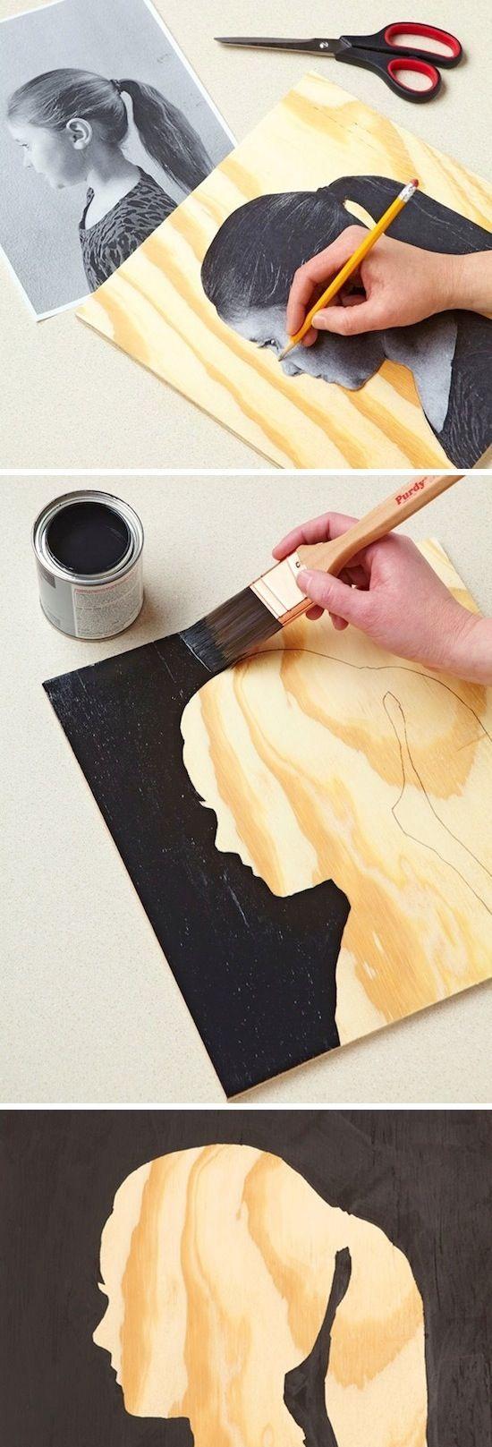 Silhouette DIY Wall Art