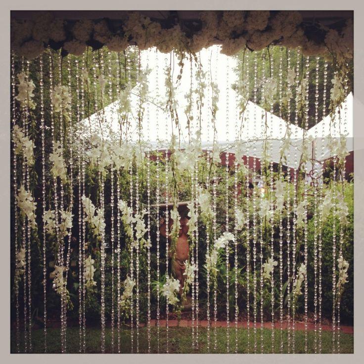 Outdoor Wedding Backdrop