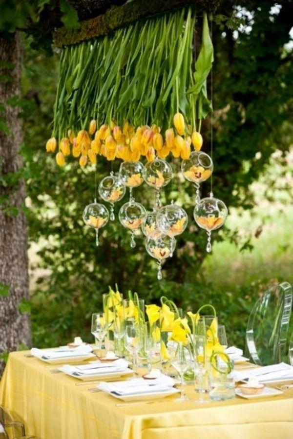 Hanging Floral Art