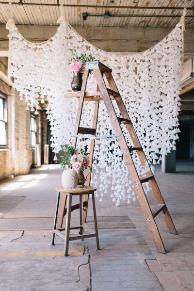 Wax Paper Backdrop