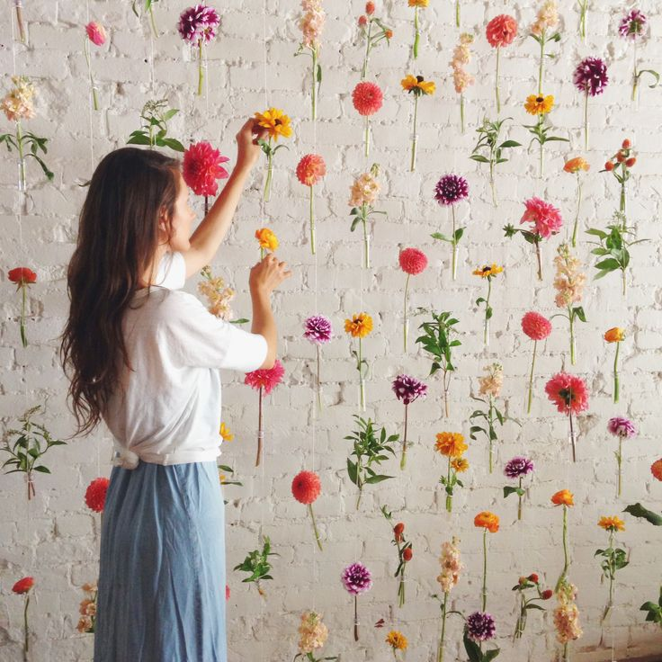 20 Ideas To Make Floral Backdrop Pretty Designs
