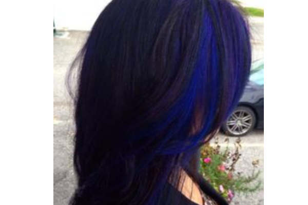 30 pretty blue hairstyles for women pretty designs blue and black hair pmusecretfo Image collections