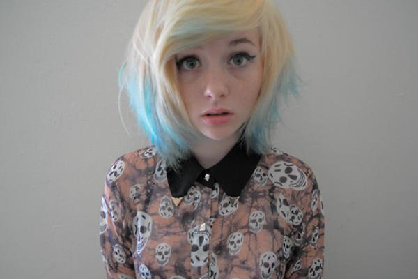 Awe Inspiring 30 Pretty Blue Hairstyles For Women Pretty Designs Short Hairstyles Gunalazisus