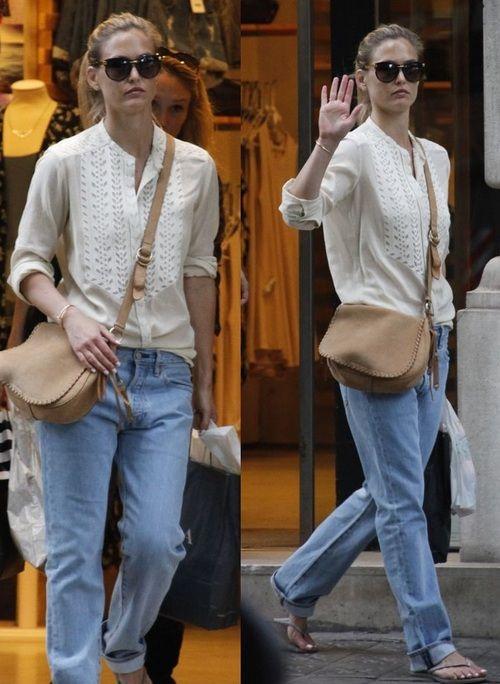 Boyfriend Jeans for Bohemian style