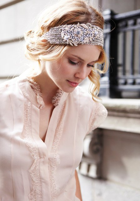 Wedding Curly Hairstyle With Headband