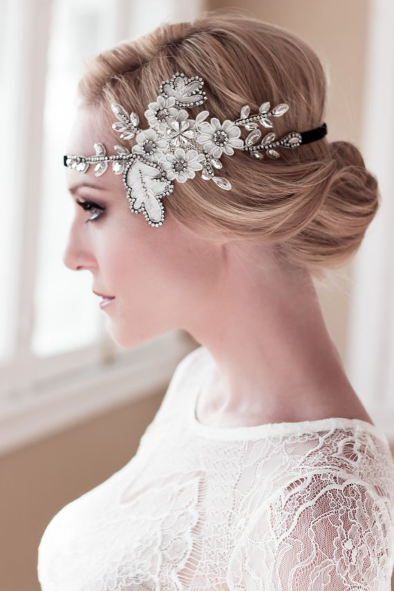 Bridal Hairstyle With Hairband