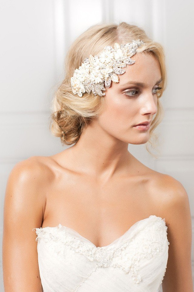 Bridal Hairstyle With Hairpieces