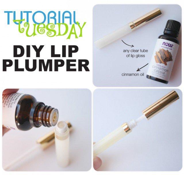 DIY Lip Plumber