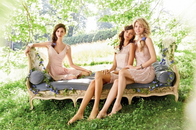 Delicate Bridesmaid Dresses
