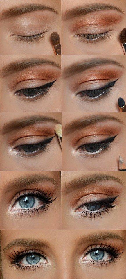 22 Pretty Eye Makeup Ideas for Summer - Pretty Designs