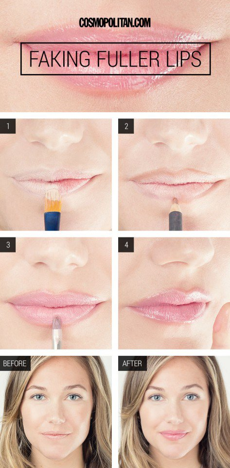 How to Make Your Lips Look Fuller
