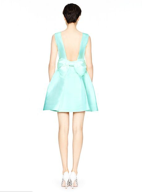 Kate Spade - Open Back Mini Dress, $278
