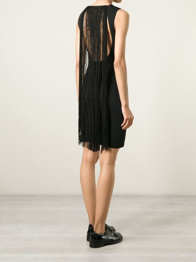 Laneus fringed dress, $361