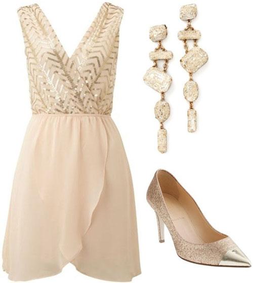 Light Pink Cocktail Dress