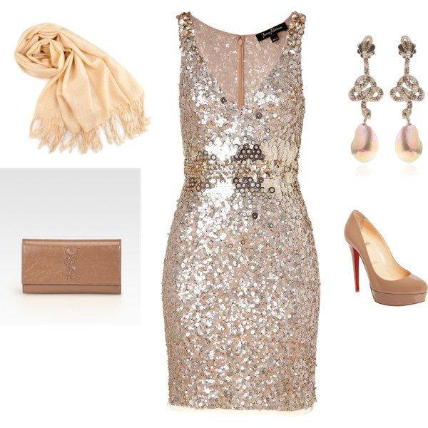 Light Pink Evening Dress