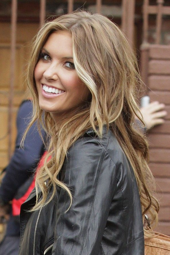Long Wavy Blond Hairstyle with Layers