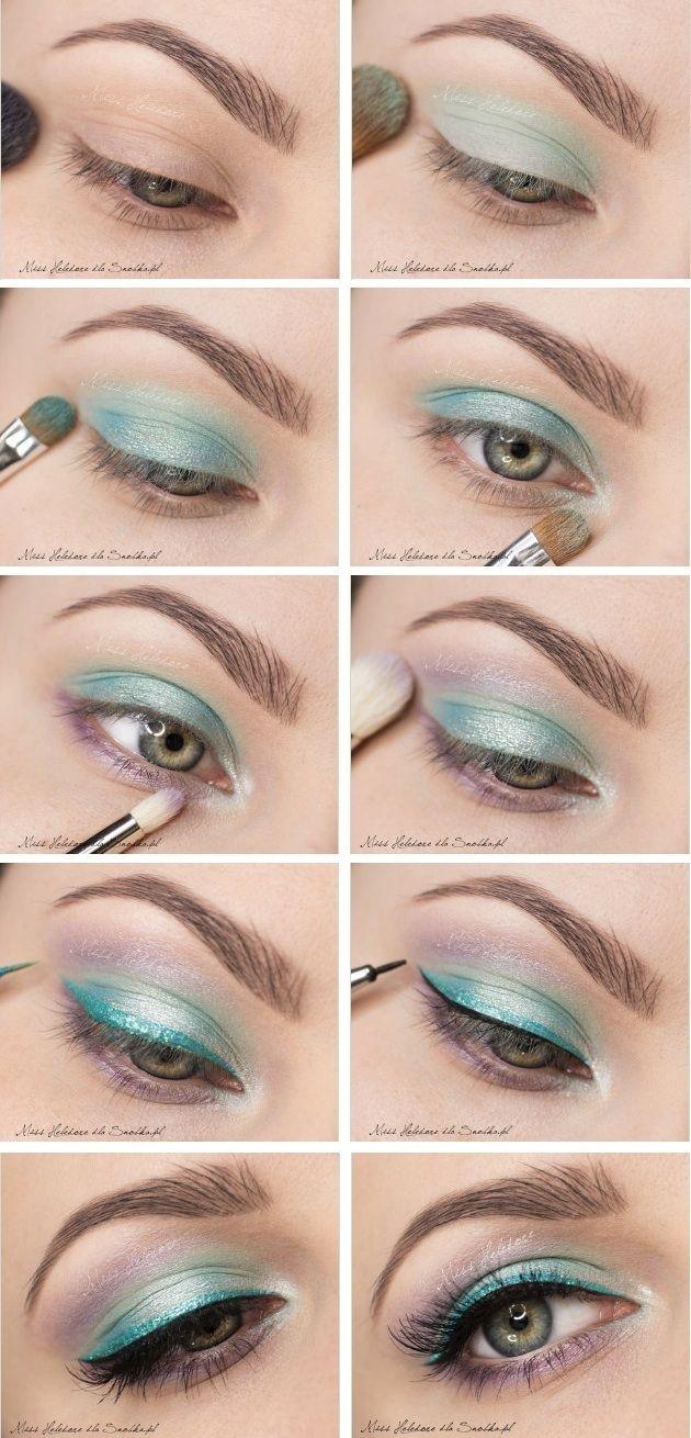 Mint Eye Makeup Tutorial