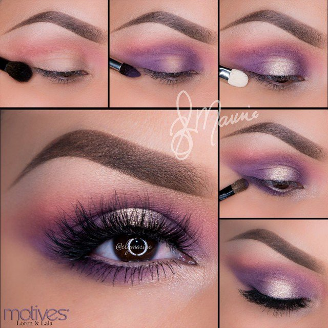 Simple Wedding Makeup Tutorial : 22 Pretty Eye Makeup Ideas for Summer - Pretty Designs