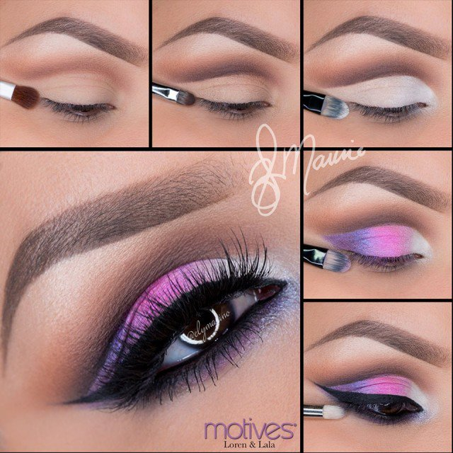 Rainbow Eye Makeup Ideas