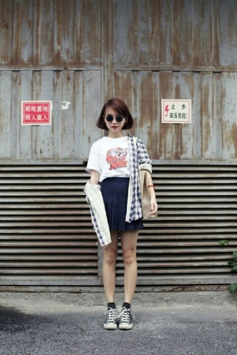 Schoolgirl Look