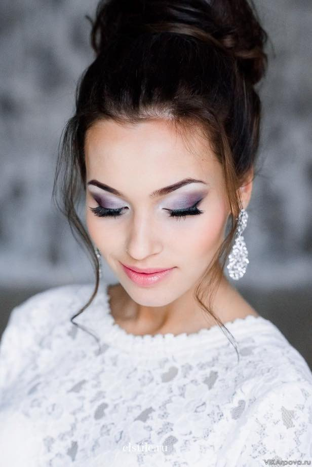 Smokey Eyes for Bridal Makeup Ideas