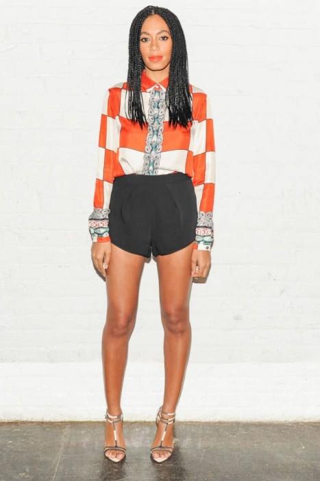 Vintage High-Waist Shorts