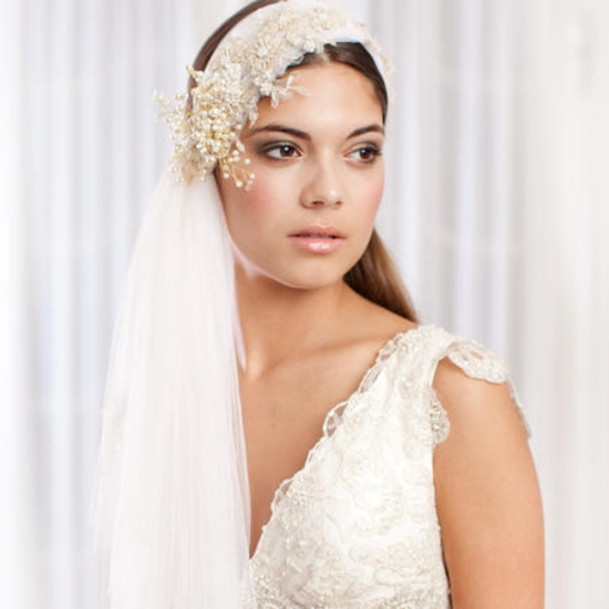 Wedding Hairstyle With Hairpieces