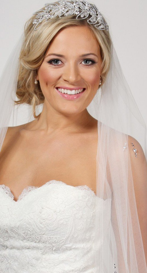 Wedding Hairstyle With Veils