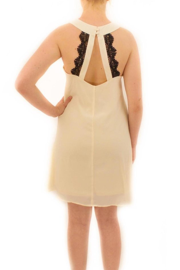 Ya Los Angeles lace back dress, $52