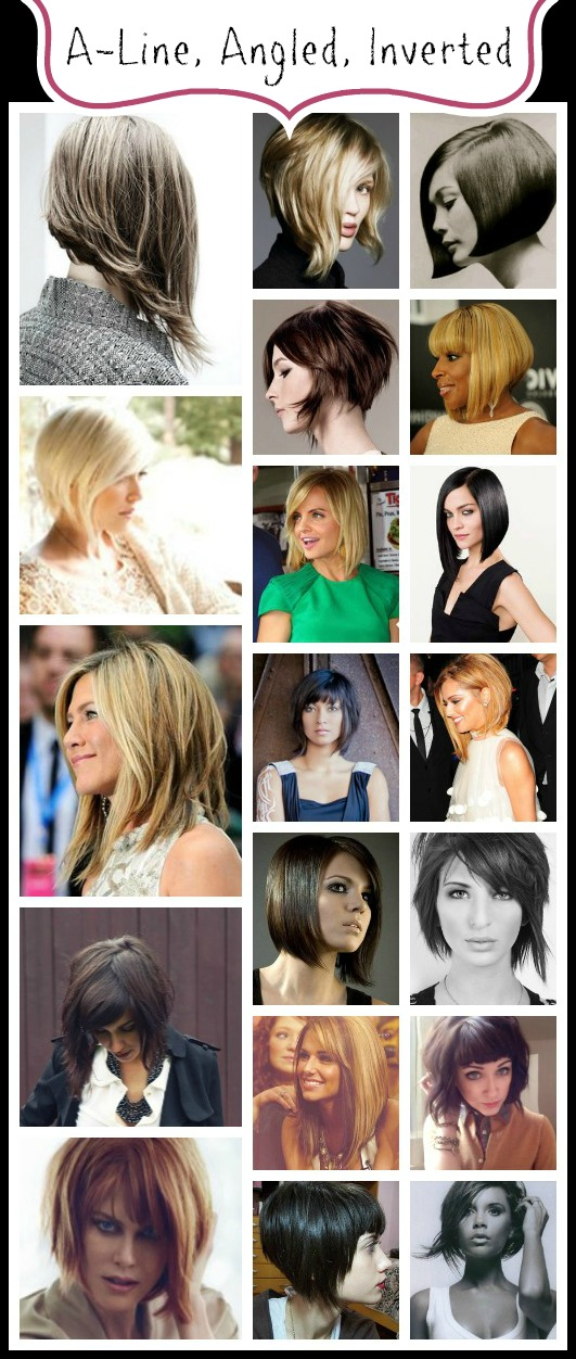 7 Different Kinds of Bob Hairstyles - Pretty Designs