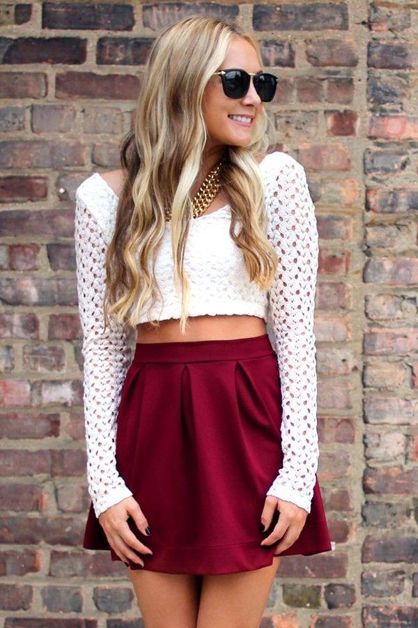 36cf4e899e5 How to Wear Crop Tops - Pretty Designs