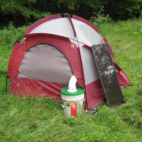 how to build a tent in camping