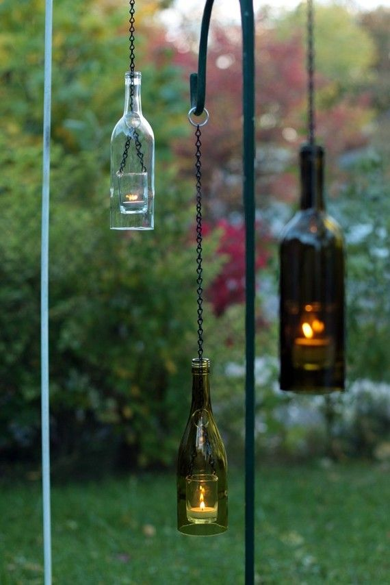Bottle Lanterns