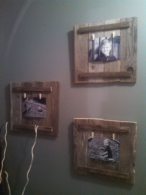 Strange 10 Diy Photo Frames With Pallets Pretty Designs Home Interior And Landscaping Ymoonbapapsignezvosmurscom