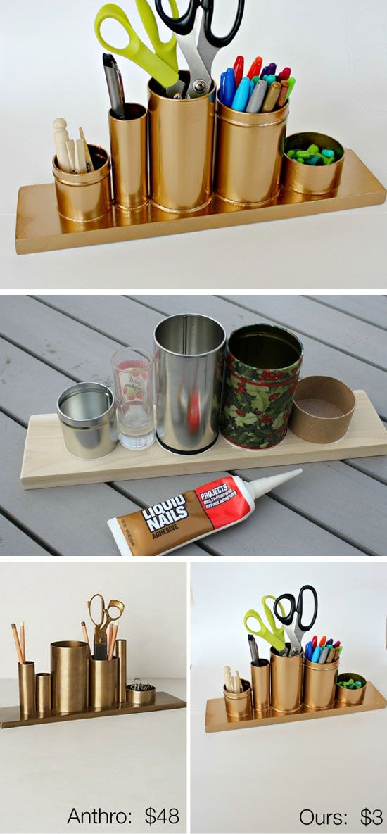 10 diy projects for your office pretty designs for Office diy projects