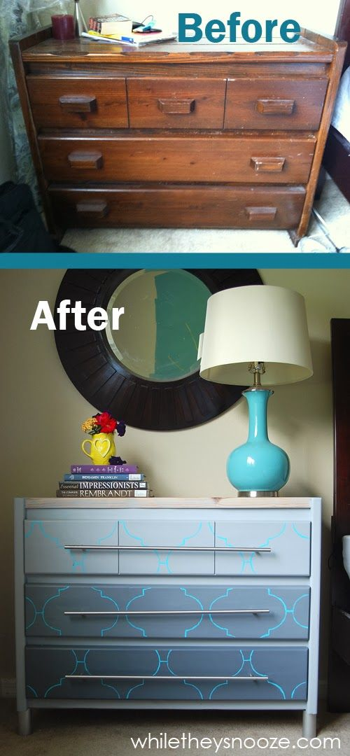 10 Ways to Redecorate Old Dressers