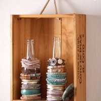 Glass Bottle as Jewelry Holders
