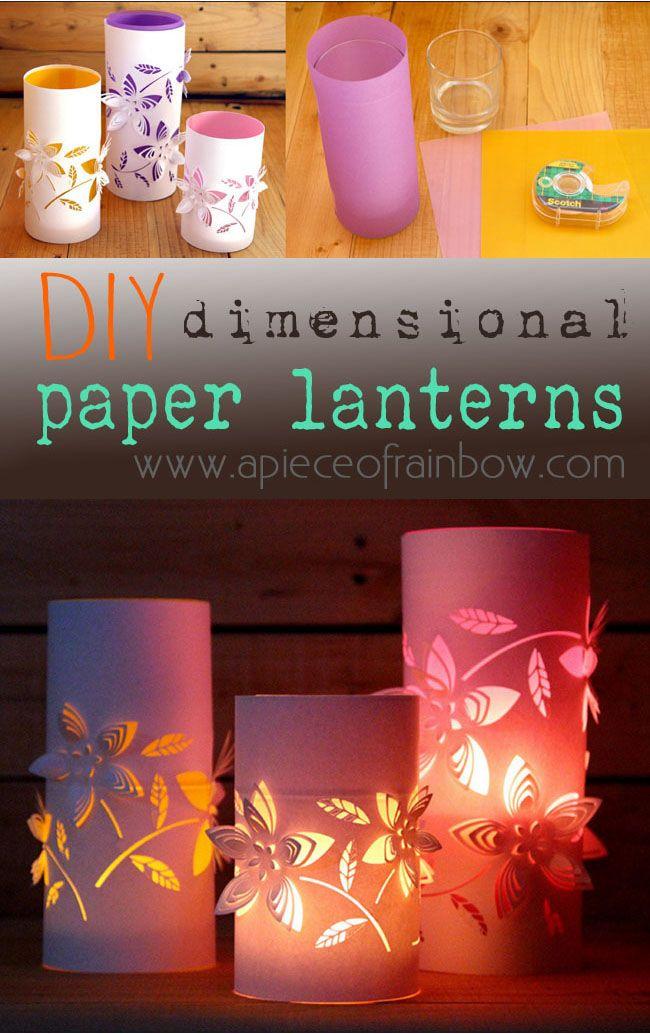 Dimensional Paper Lantern