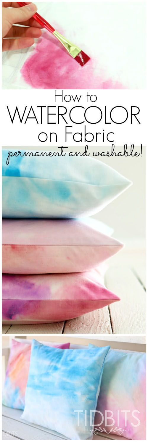 Watercolor Cushions