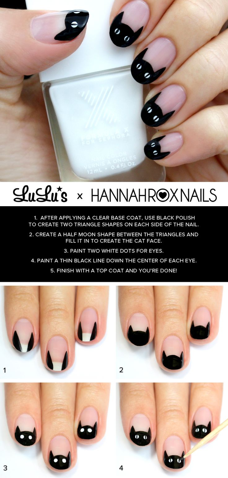 15 Amazing Step by Step Nail Tutorials