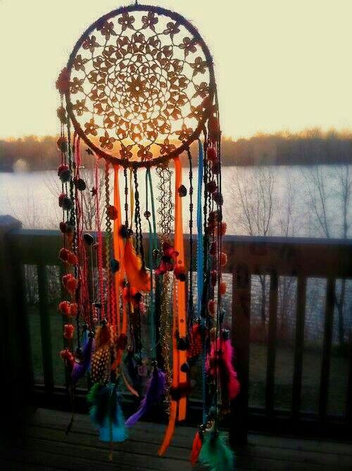 15 Crochet Dream Catcher Ideas for DIY
