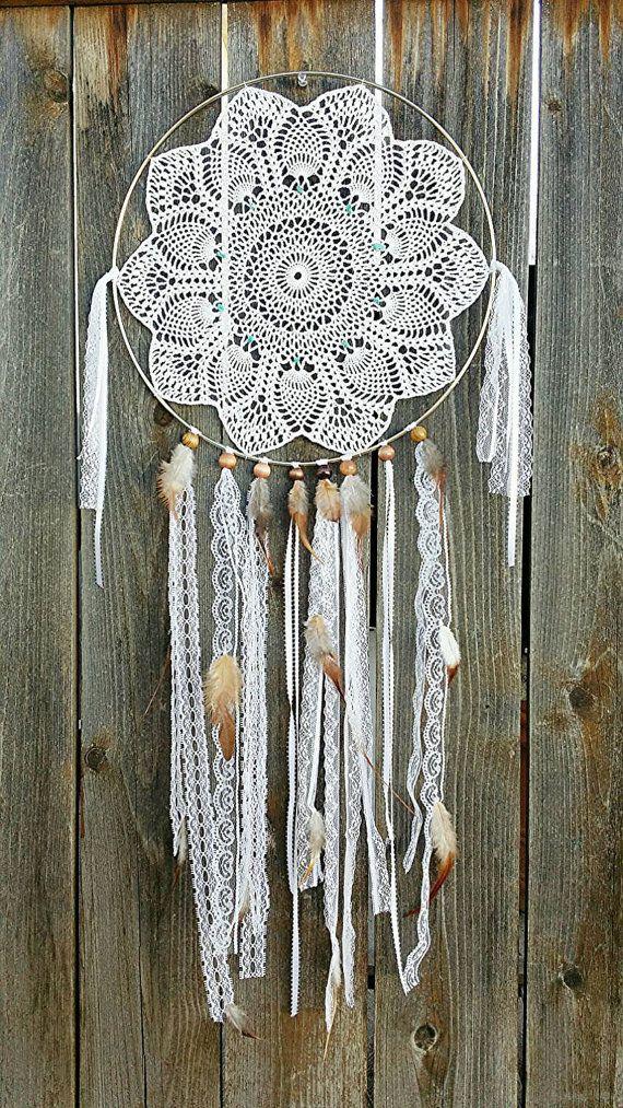 15 Crochet Dream Catcher Ideas Pretty Designs