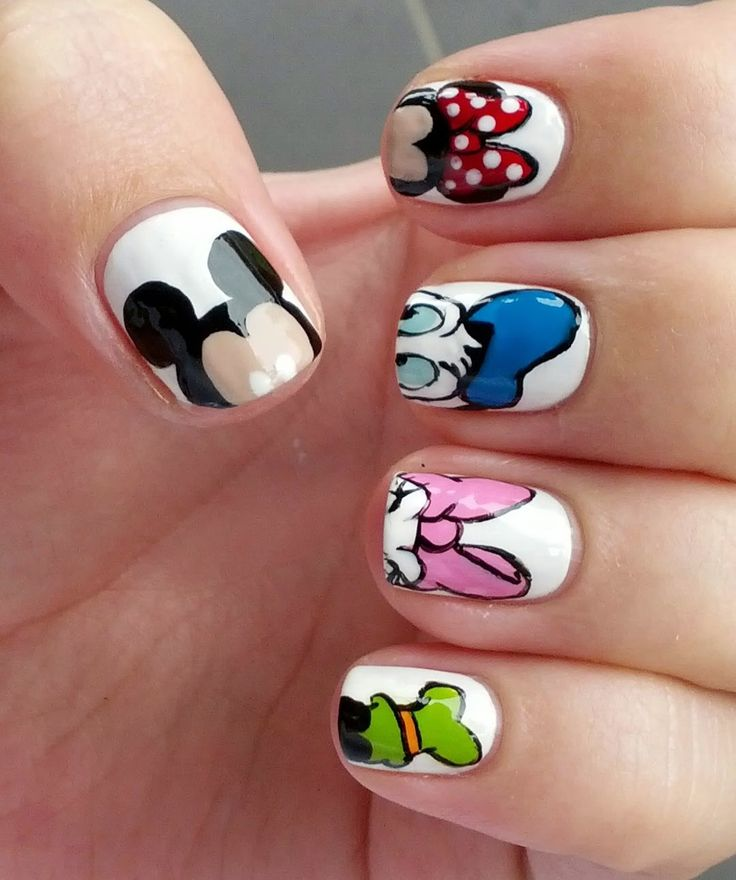 Disney Nail Art: 15 Cute Nail Art Designs & Ideas 2016